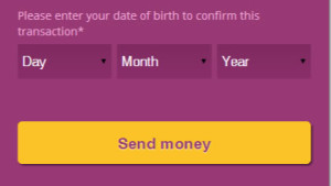 Skrill Date of Birth