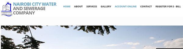 Nairobi Water Company Paybill Number