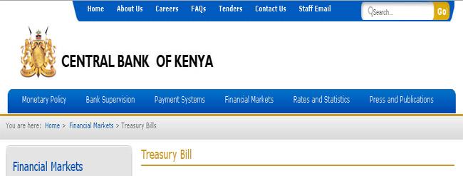 The Central Bank of Kenya (CBK)