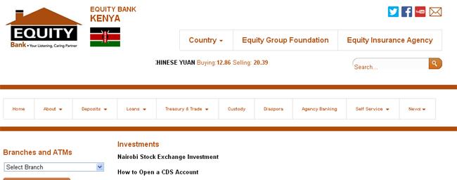 Equity Bank - Investment Banks in Kenya