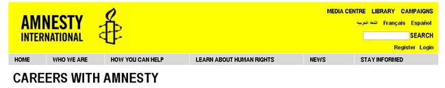 Latest Amnesty International Jobs in Kenya