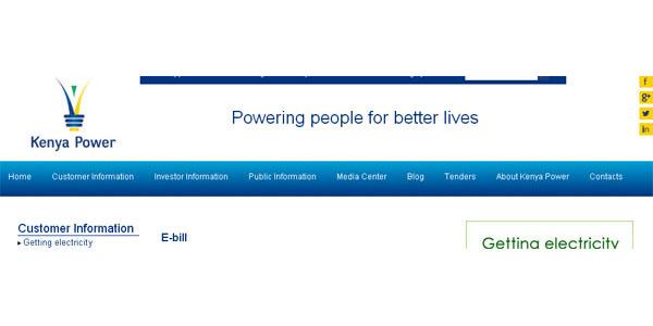 Check KPLC Bill via Phone or E-mail using KPLC E-Bill