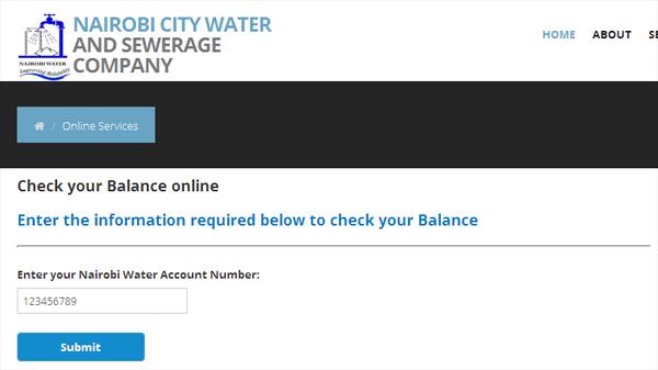 Nairobi Water Bill Inquiry
