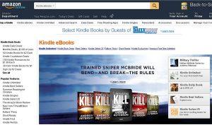 Amazon Kindle E-Books