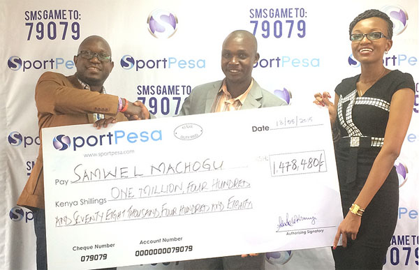 SportPesa Jackpot Winner
