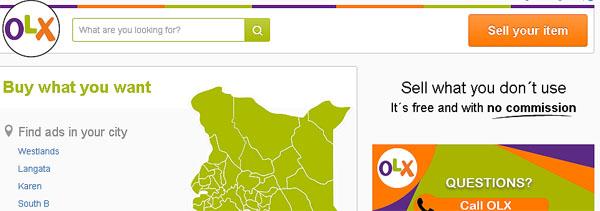 olx-kenya - Online Jobs In Kenya: How To Make Money Online