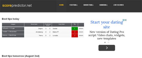Scorepredictor