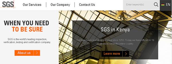 SGS Kenya