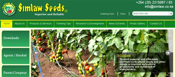 Simlaw Seeds - Agriculture in Kenya