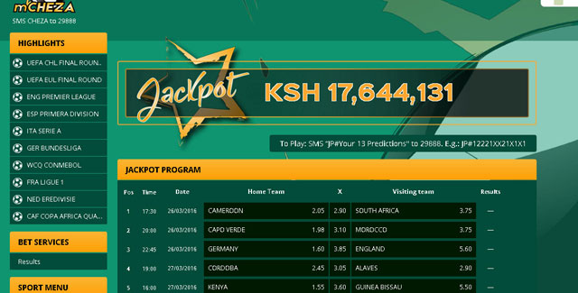 How to Win Mcheza Jackpot - Mcheza Jackpot Bonus Betting Tips
