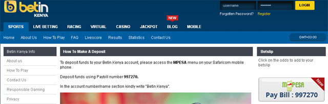 Betin Paybill Number: How to Deposit into Betin Kenya using