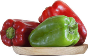 Eat bell peppers for more stamina