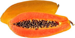 Papaya have zinc
