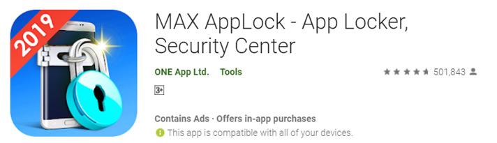 MAX app locker