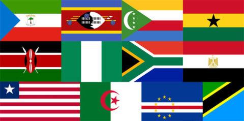 Africa flags quiz
